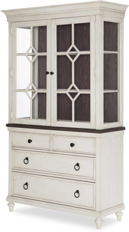 Legacy Classic Brookhaven Dining Room China Hutch w/Base N6400