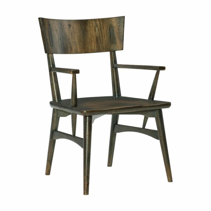 Hooker American Life Collection Rustic Dining Chair 1654-75800-DK